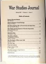 War Studies Journal