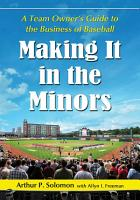 Making It in the Minors PDF