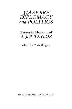 Warfare  Diplomacy and Politics PDF