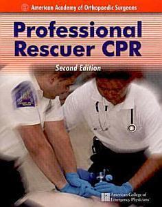 Professional Rescuer CPR PDF
