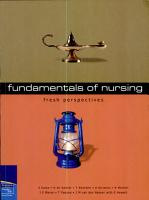 Fresh Perspectives  Fundamentals of Nursing PDF