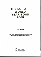 Europa World Year Book 2005 PDF