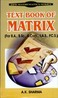 Text Book Of Matrix PDF