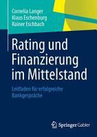 Rating und Finanzierung im Mittelstand PDF