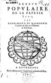 Erreur populaire de la papesse Iane, par Florimond de Raemound