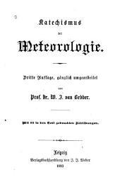 Katechismus der Meteorologie
