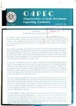 OAPEC, Organization of Arab Petroleum Exporting Countries