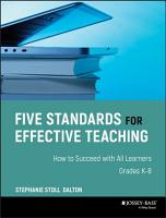 Five Standards for Effective Teaching PDF