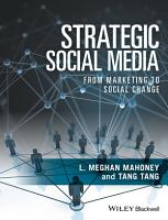 Strategic Social Media PDF