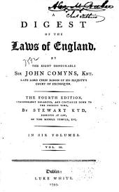 A Digest of the Laws of England: Volume 3