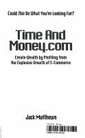 Time and Money com PDF