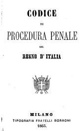 Codice di procedura penale del regno d'Italia: con copioso indice alfabetico-analitico