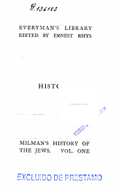 The History of the Jews: Volume 1