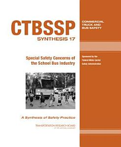 Special Safety Concerns of the School Bus Industry PDF