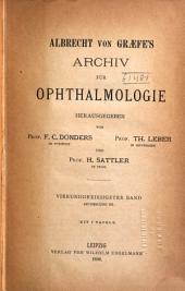 Albrecht von Graefes Archiv für Ophthalmologie: Band 34,Ausgaben 3-4