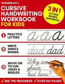 Cursive Handwriting Workbook for Kids