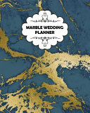 Marble Wedding Planner Cute Wedding Planner Wedding Notebook Wedding Journal 102 Pages 8x10inches Softcover Cover Gold Blue Book PDF