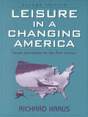 Leisure in a Changing America Book