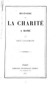 Histoire de la charité à Rome