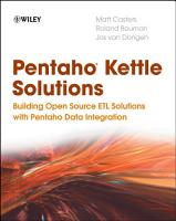 Pentaho Kettle Solutions PDF