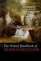 The Oxford Handbook of Transcendentalism PDF