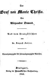 Der Graf von Monte Christo: Bände 24-27