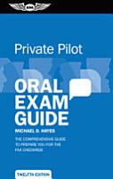 Private Pilot Oral Exam Guide PDF