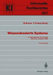 Wissensbasierte Systeme: 3. Internationaler GI-Kongreß München, 16.–17. Oktober 1989 Proceedings