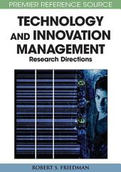 Principle Concepts of Technology and Innovation Management: Critical Research Models: Critical Research Models