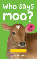 Bright Baby Slide and Find Who Says Moo  PDF