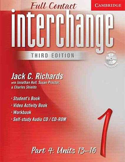 Interchange Third Edition Full Contact Level 1 Part 4 Units 13 16 PDF
