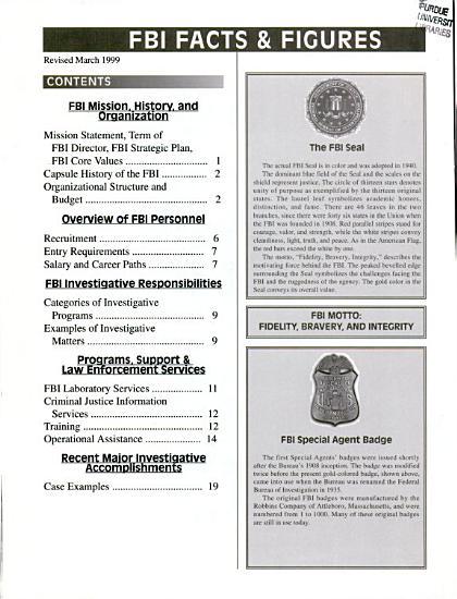 Your FBI PDF