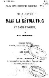De la justice dans la revolution et dans l'église: Numéros9à12