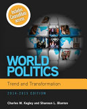 World Politics  Trend and Transformation  2014   2015 PDF