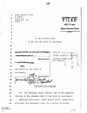 California. Supreme Court. Records and Briefs: S015795, Petition for Review