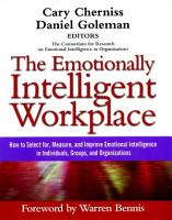 The Emotionally Intelligent Workplace PDF