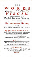 The Works of Virgil  Translated Into English Blank Verse     By Joseph Trapp     The Fourth Edition  Corrected  and in the Notes Much Enlarged PDF