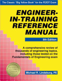 Engineer In Training Reference Manual Book