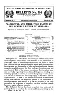 Waterfowl and Their Food Plants in the Sandhill Region of Nebraska PDF