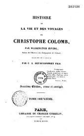 Histoire de la vie et des voyages de Christophe Colomb: Volume1