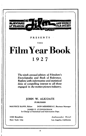 Film Year Book PDF