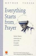 Everything Starts from Prayer Book