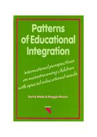 Patterns of Educational Integration PDF