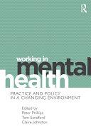Working in Mental Health