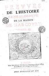 Histoire généalogique de la maison de Harcourt