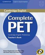 Complete PET for Spanish Speakers Teacher's Book