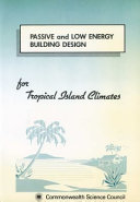 Passive and Low Energy Building Design For Tropical Island Climates PDF