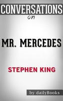 Mr  Mercedes  A Novel By Stephen King   Conversation Starters PDF