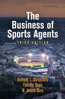 The Business of Sports Agents PDF