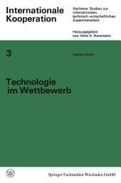 Technologie im Wettbewerb: Von der privaten zur staatlich-internationalen Wettbewerbswirtschaft der Luftfahrt